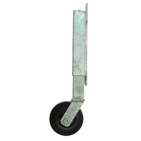 swing gate wheel gate wheel with enclosed spring