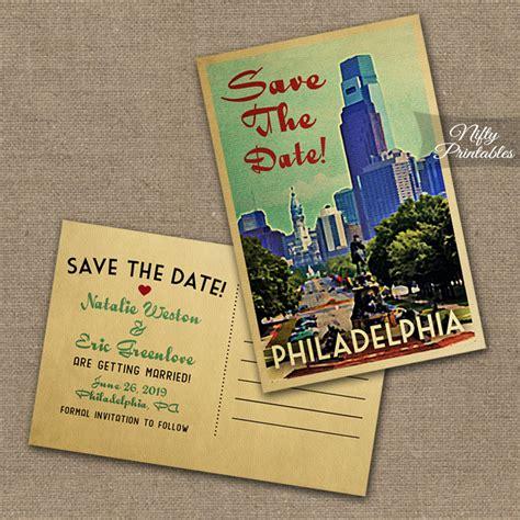 Wedding Invitations Philadelphia by Philadelphia Wedding Invitations Vtw Nifty Printables