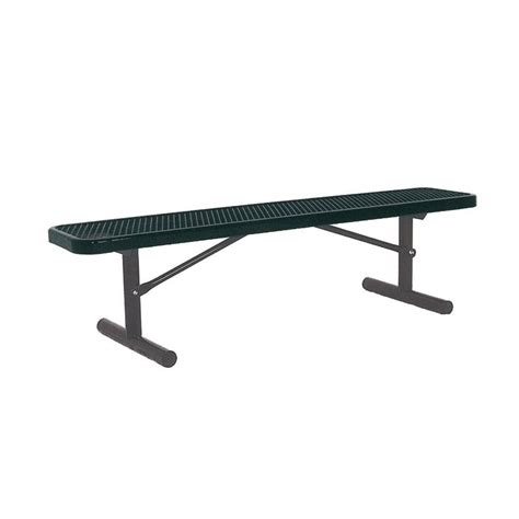 portable benches ultra play 6 ft cedar commercial park recycled plastic