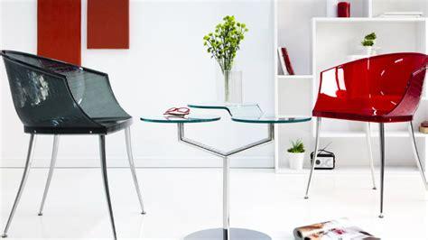 sedia in plexiglass dalani sedia in plexiglass comodit 224 trasparente in salotto