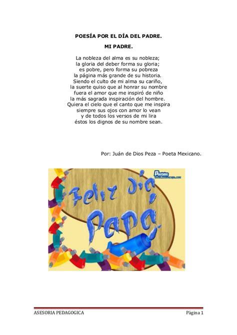 Composicion Del Dia Del Padre | poes 237 a por el d 237 a del padre