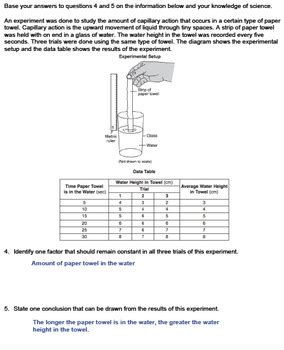 Analyzing Data Worksheet by Worksheet Analyzing Data And Graphs Editable Tpt