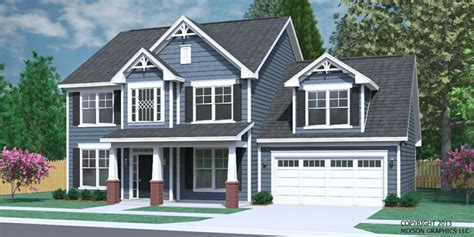 traditional two story house plans house plan 2304 a the carver elevation quot a quot traditional