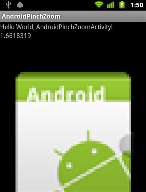 pinch zoom layout android android er scale bitmap according to scalegesturedetector