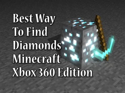 best way to mine diamonds tutorial best way to mine for diamonds on mincraft xbox