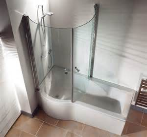 Shower Bath Whirlpool P Shaped Shower Bath With Whirlpool Upgrade