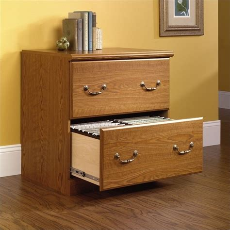 Sauder Orchard Hills 2 Drawer Wood Lateral File Carolina Oak Lateral File Cabinet 2 Drawer