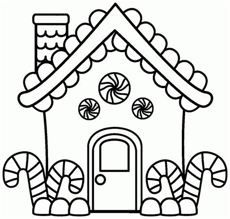 gingerbread house coloring page merry christmas with gingerbread house coloring pages womanmate com