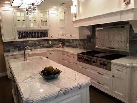 Granite For White Kitchen Cabinets Why White Kitchen Cabinets With Granite Countertops Are Worth Your Choice All Design Idea