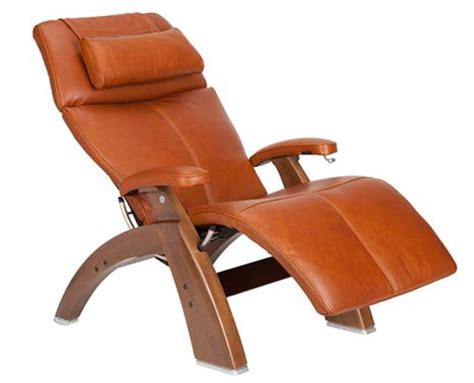 premium leather pc 410 walnut human touch zero gravity