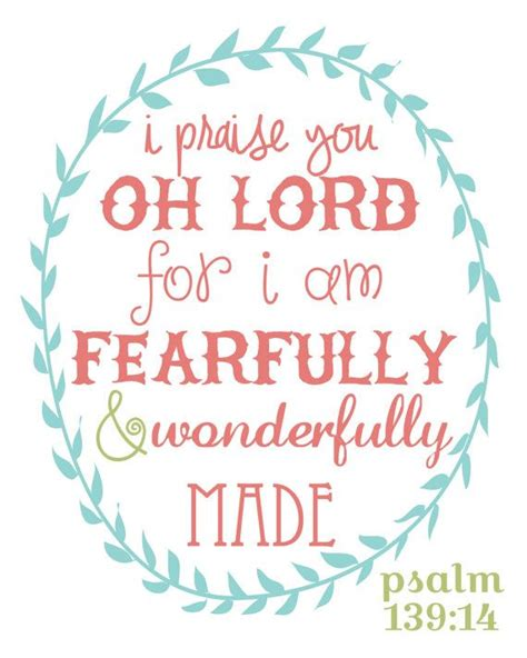 I Am Beautiful Because Card Template by Best 25 Psalm 139 14 Ideas On Fearfully