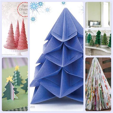5 225 rboles de navidad de papel f 225 ciles de hacer pequeocio