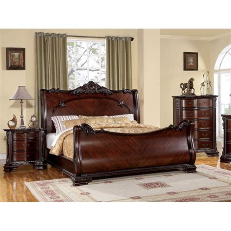 3 piece queen bedroom set furniture of america anisa 3 piece king queen bedroom set