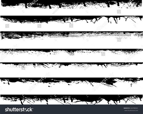 grunge design elements vector grunge edges vector set design elements stock vector