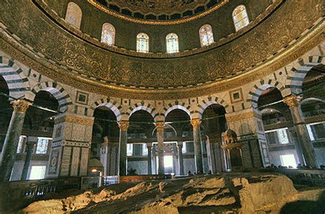 Dome Of Rock Interior by Dome Of The Rock Interior Dome Www Imgkid The