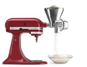 kitchenaid kgm stand mixer grain mill attachment on sale