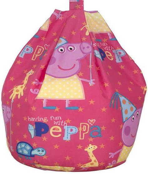 pig bean bag chair buy peppa pig bean bag funfair from our bean bags
