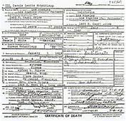 Carole Lombard Death Certificate