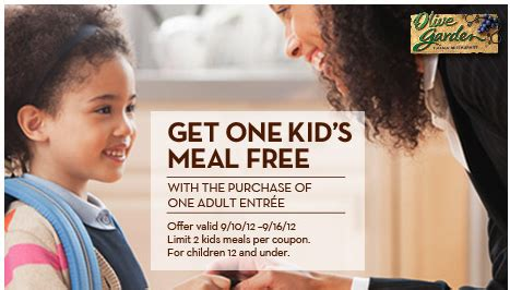 olive garden coupons smartsource olive garden coupon kid s eat free how to have it all