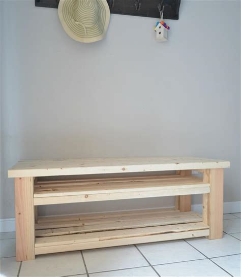 mudroom bench shoe storage plans mudroom bench with shoe storage buildsomething