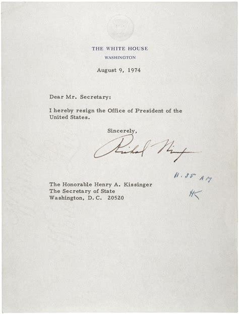 Resignation Letter Llc Member Nixon S Resignation Letter Social Studies And History S