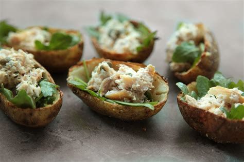 Trout Pete smoked trout potato skins appetizers snacks and starter recipes for dinner
