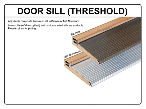 How To Install Exterior Door Threshold 42 Quot X96 Quot 2 Panel V Grooved Mahogany Wood Grain Fiberglass