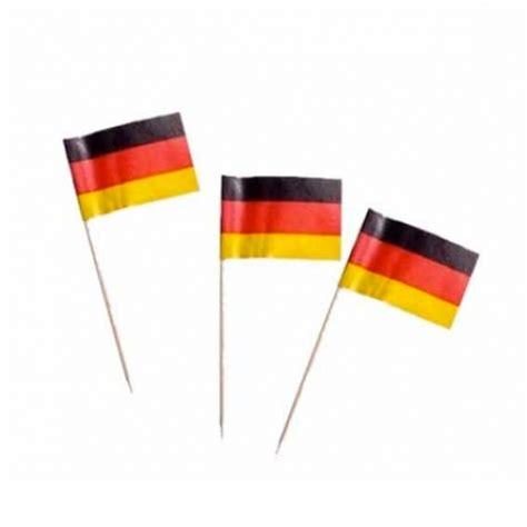 deutschland deko deutschland f 228 hnchen deko picker partysternchen