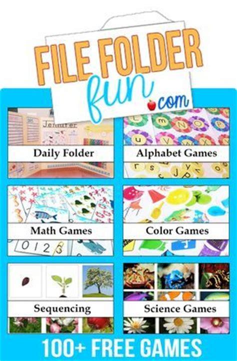 Best 20 File Folder Games Ideas On Pinterest Folder