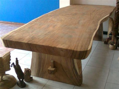 Cobek Ulekan Kayu Besar Bahan Alami meja meh besar jepara jati furniture
