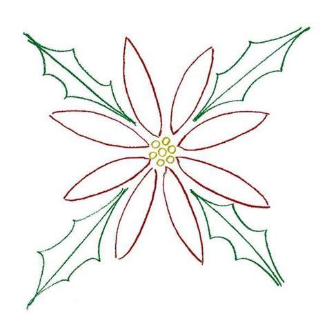 imagenes de nochebuenas navideñas para colorear dibujo de flores para colorear de noche buenas imagui