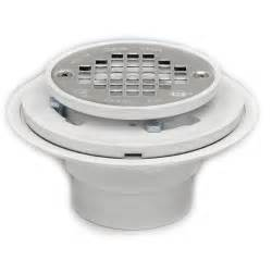 oatey 42213 pvc drain with stainless steel strainer for