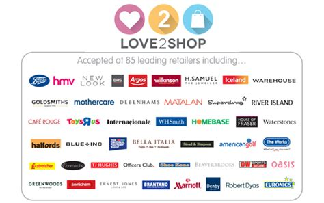 Love 2 Shop Gift Card - love2shop gift vouchers voucher express