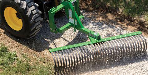 Landscape Rake Design 15 Ready Deere 3032e And 3038e Attachments