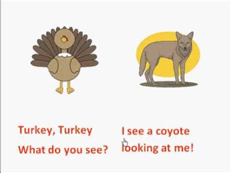 what do you do with a chance books turkey turkey what do you see printable thanksgiving