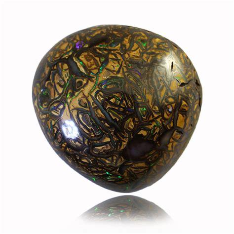 Opal Yellow yellow brown solid boulder matrix opal macs opals