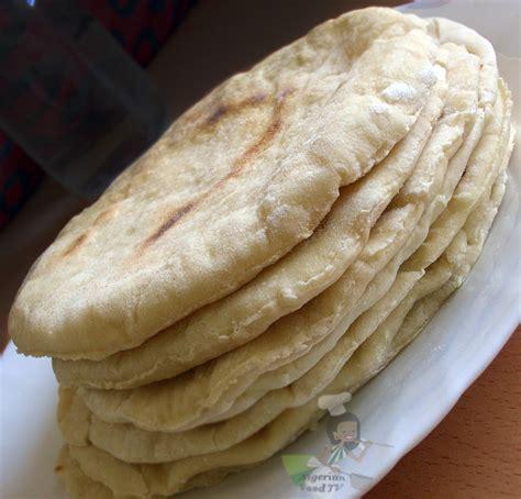 Pita Handmade - shawarma bread in a pan oven pita bread naan