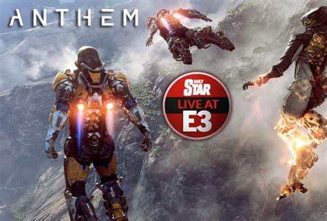 xbox   anthem bioware game trailer release date