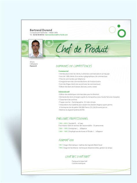 Lettre De Pr Sentation Tudiant resume format mod 232 les de cv 233 tudiant