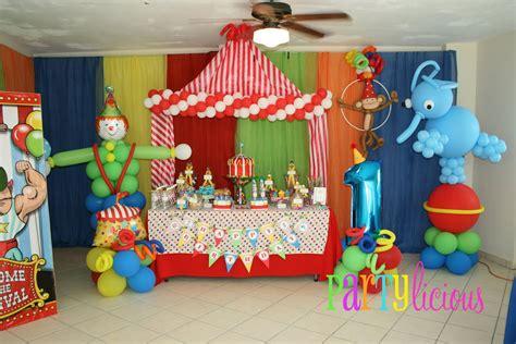 circus themed decorations ideas circus balloon decoration favors ideas