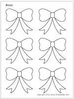 Christmas Tree Craft Ideas - bows printable templates amp coloring pages firstpalette com
