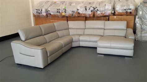 leather electric recliner chaise corner sofa elixir grey leather electric recliner corner sofa with
