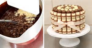 kinderbueno kuchen diy kinder brownie chocolate cake how to make torta