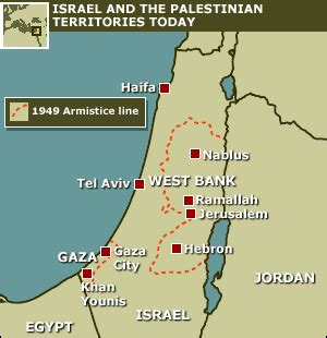 israel map today news