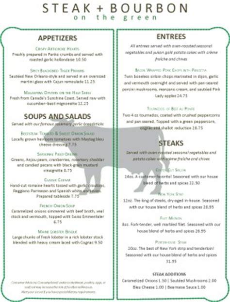 steer steakhouse menu steakhouse menus