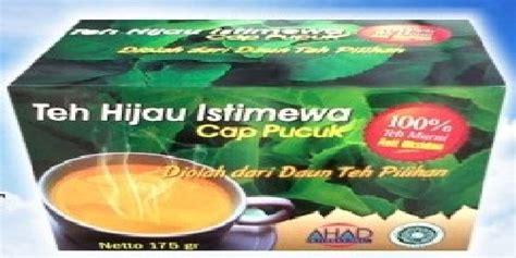 Teh Hijau Cap Pucuk keunggulan kemasan alumunium foil pada teh hijau istimewa