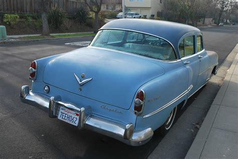 54 Chrysler New Yorker by 1954 Chrysler New Yorker Base 5 4l Hemi 4 Door Sedan For