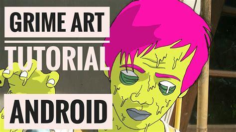 tutorial sketchbook android membuat grime art di android sketchbook tutorial youtube