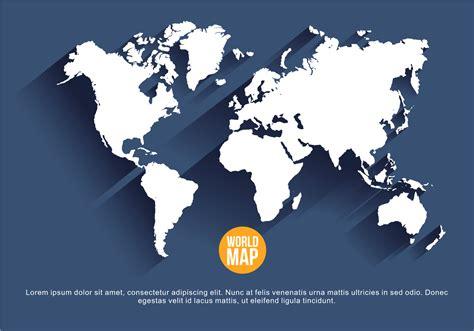 world map illustration free navy blue mapa mundi vector illustration free