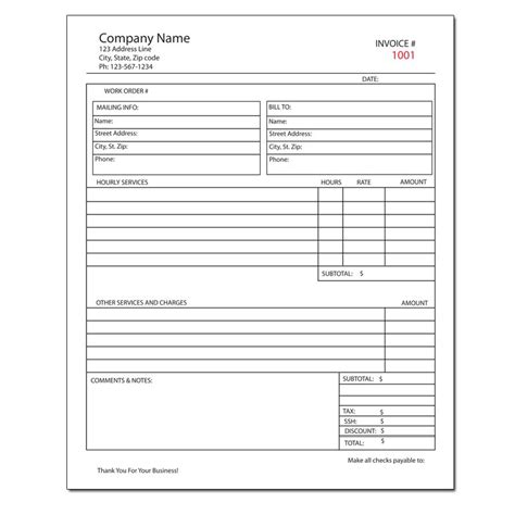 arco 60 00 receipt template general invoice forms receipts carbonless printing